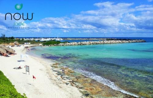 Now Jade Riviera Cancun beach