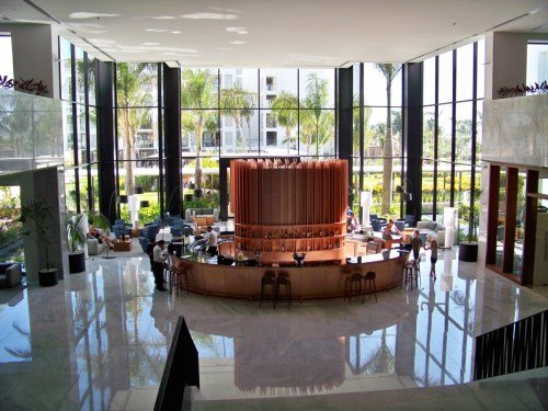 Finest Playa Mujeres lobby bar