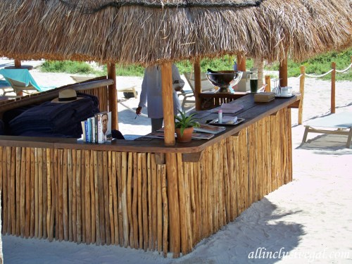 Excellence Club beach hut