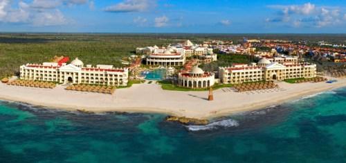 Iberostar Grand Hotel Paraiso aerial view