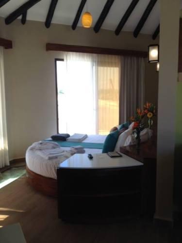 El Dorado Maroma Overwater Palafitos bedroom