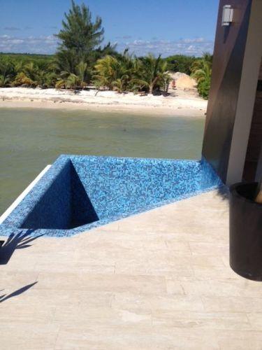 El Dorado Maroma Overwater Palafitos plunge pool
