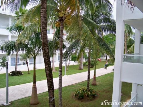 Riu Playacar Standard Double balcony view
