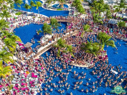 Barcelo Maya Beach Crash My Playa pool party