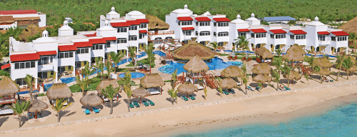 Hidden Beach Resort aerial view