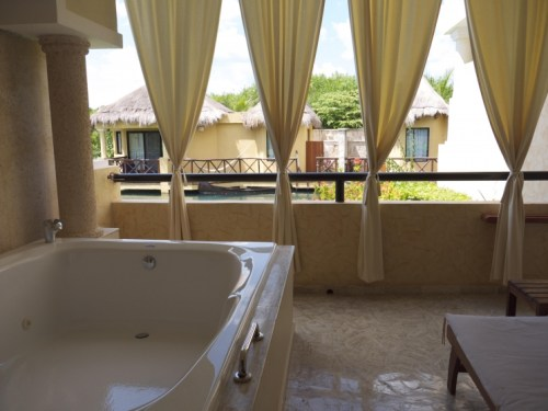The Royal Suites Yucatan balcony
