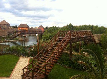The Royal Suites Yucatan bridge