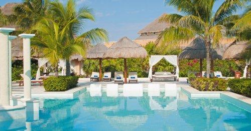 The Royal Suites Yucatan pool