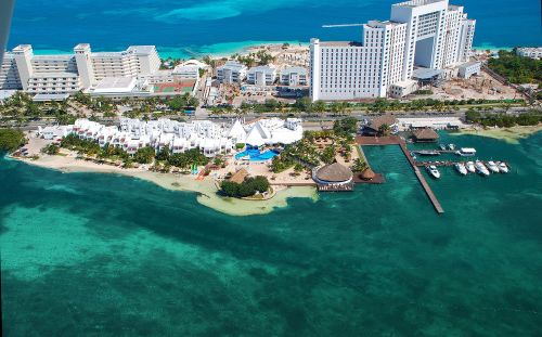 Sunset Marina Resort and Yacht Club aerial view