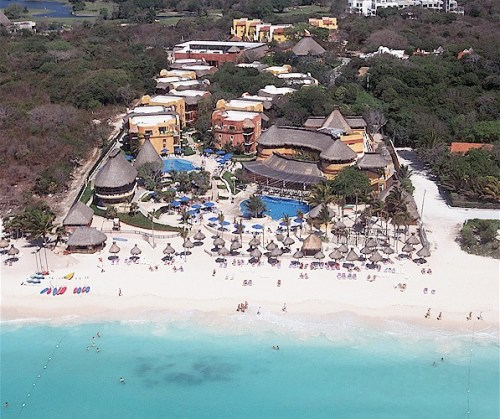 The Reef Playacar aerial view