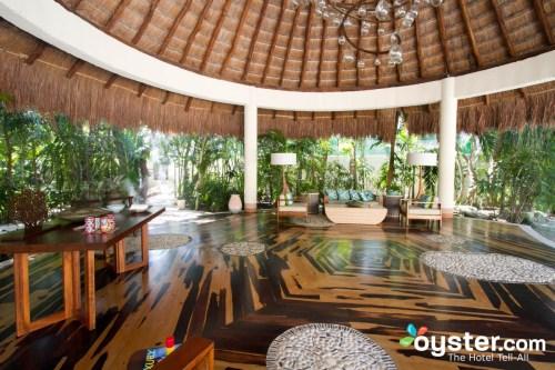Viceroy Riviera Maya lobby