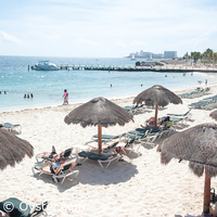 Riu Caribe beach