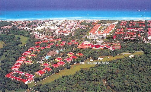 ClubHotel Riu Tequila aerial view
