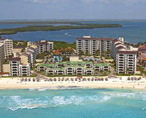 Emporio Hotel and Suites Cancun aerial view