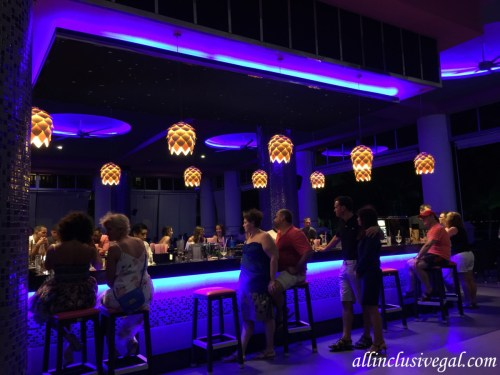 Riu Palace Las Americas theater bar