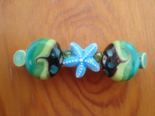 sumnerdsigns starfish barrette
