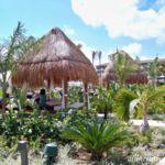 Dreams Playa Mujeres poolside Bali bed