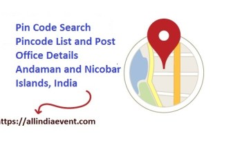 Pincode List and Post Office Details Andaman and Nicobar Islands