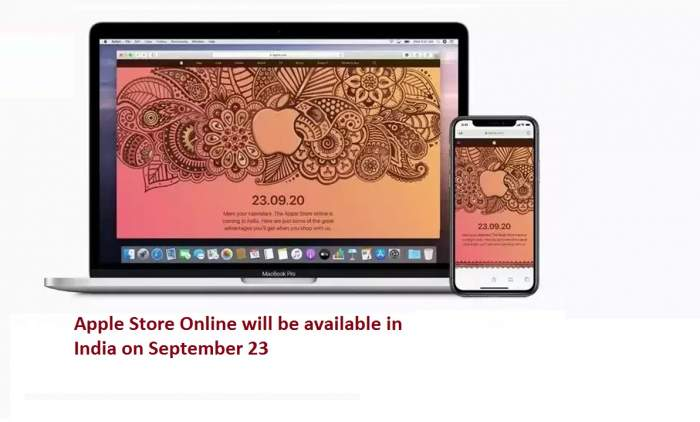 Apple Store Online will be available in India on September 23