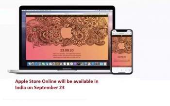 Online Apple Store Entry in India 23 Sept
