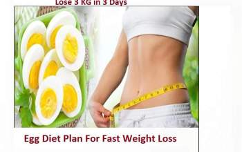 Amazing Egg Diet For Weight Loss In Just 3 days