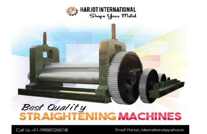 Overview of Straightening machine and Metal fabrication Process