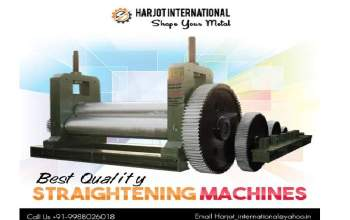 straightening machine manufacturers in India