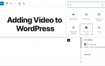 How to Use Video in Blog Posts to Wordpress