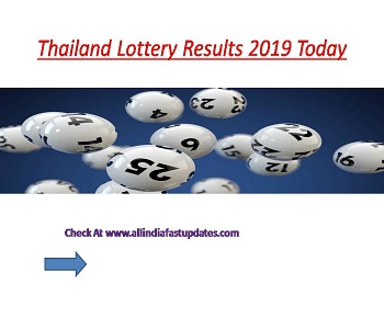 Thai Lottery Results 16/08/2019 Check Thailand Lottery Results