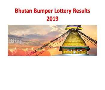 Bhutan Lucky Daily Bumper Lottery Results 2019 Today / Old At 12 00