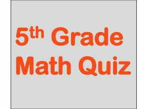 5th grade Unitary Method Math