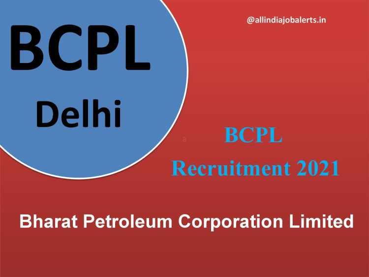 Bharat Petroleum Corporation Limited Recruitment 2021