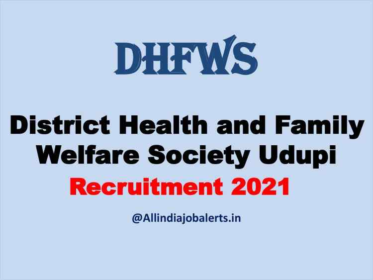 DHFWS Recruitment 2021: