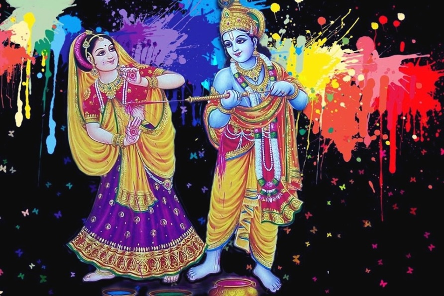 Holi Wallpaper With Quotes Happy Holi Radha Krsihna Hd Images Wallpapers Holi 2017