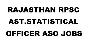 Rajasthan RPSC ASO Recruitment 2018 Apply Online @ rpsc