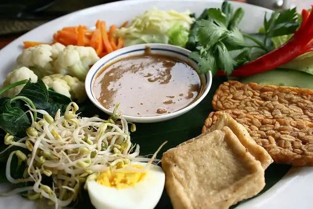 Indonesia Food Eating