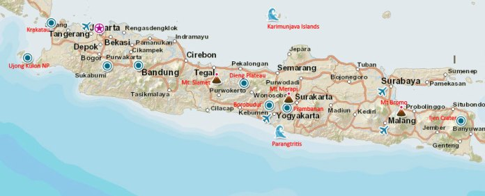 Java Travel Guide Indonesia Travel Guide