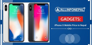 iPhone X Mobile Price in Nepal