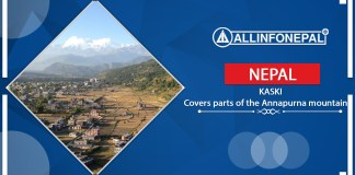 Kaski || A district that covers the parts of the Annapurna mountain range
