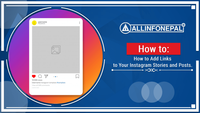 How to Add Links to Your Insta­gram Sto­ries and Posts