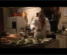 Video of Bob Cooking Dinner