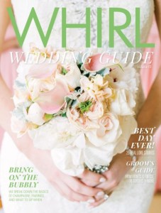 On the cover of the whirl wedding guide arielle schilling event on the cover of the whirl wedding guide arielle schilling junglespirit Gallery