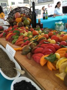 heirloom tomato board