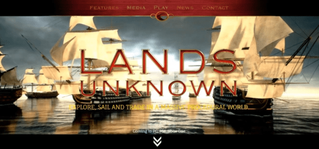 Lands Unknown front page