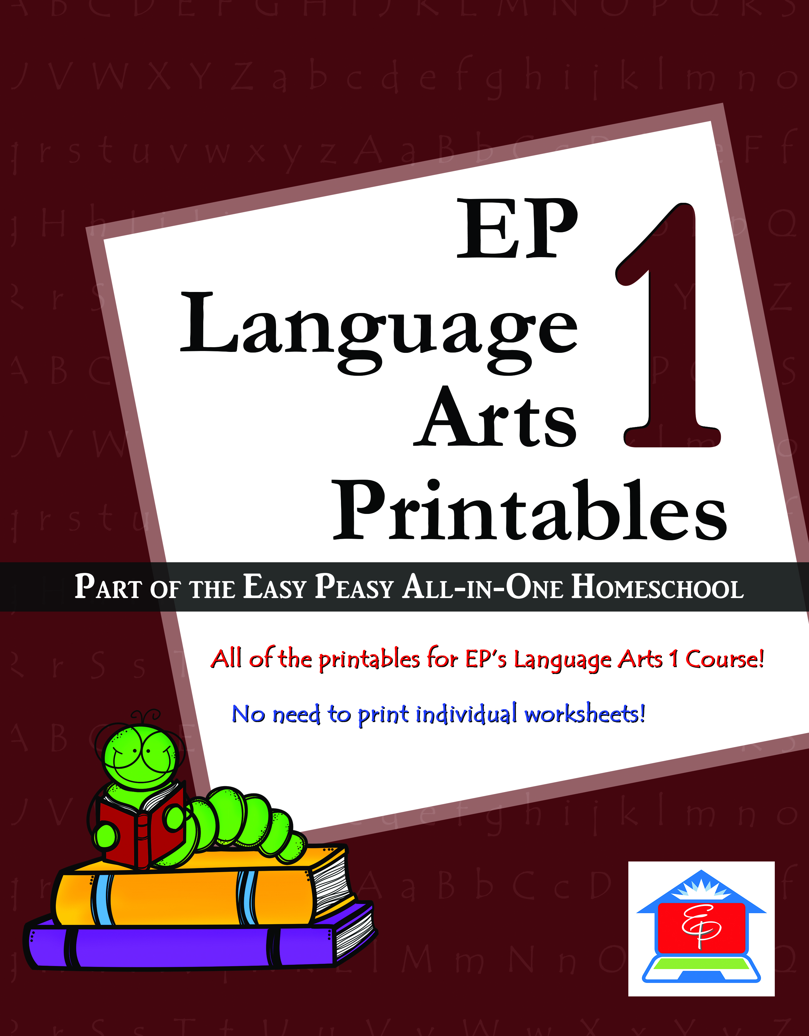 Language Arts Courses – Easy Peasy All-in-One Homeschool [ 3300 x 2579 Pixel ]