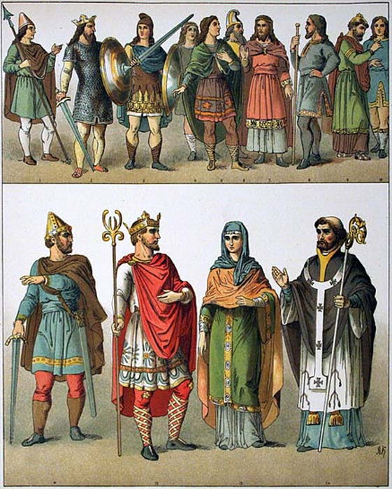 Examples of Anglo-Saxon Clothing