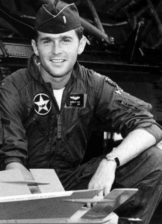 Lt. George W. Bush
