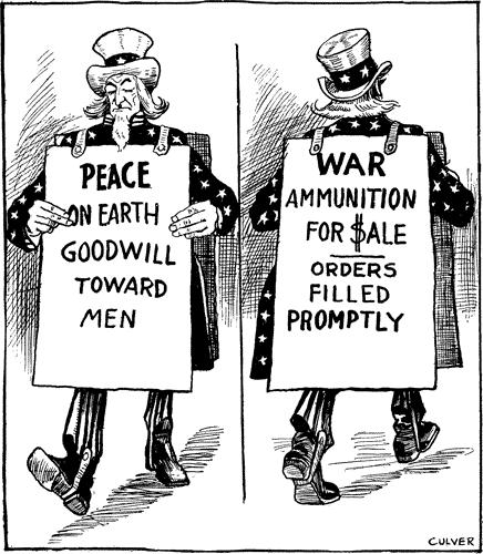 WWI Political Cartoons