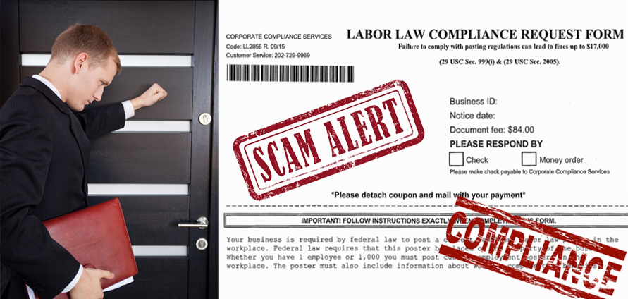beware of scam targeting small
