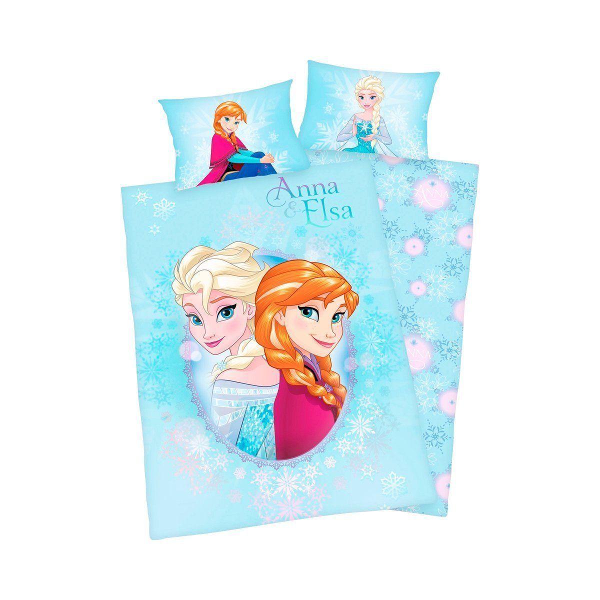 Bettwäsche Anna Und Elsa Die Eiskönigin Kissen Elsa Anna Kristoff Olaf